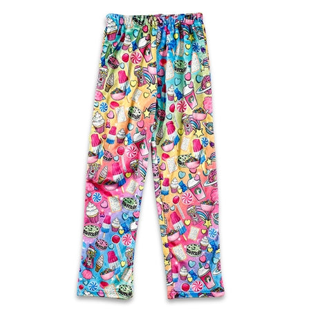 """Sweet"" Fuzzy Lounge Pants"