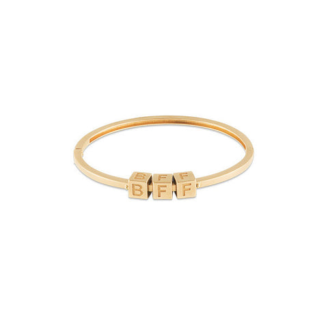 BFF Le Bloc Bracelet - Onyx and Blush