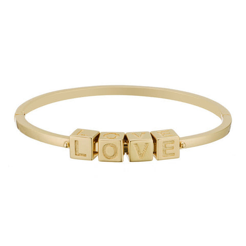 LOVE Le Bloc Bracelet - Onyx and Blush