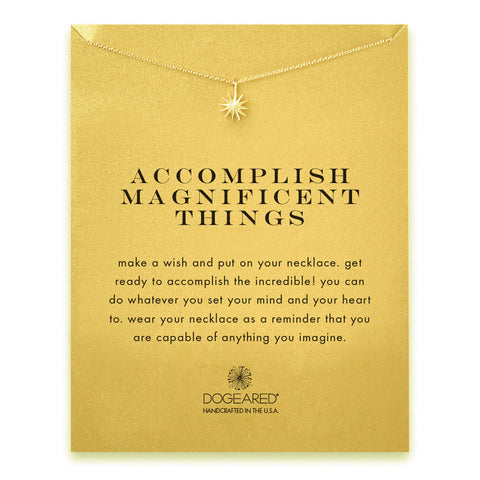 Accomplish Magnificent Things - Onyx and Blush  - 1