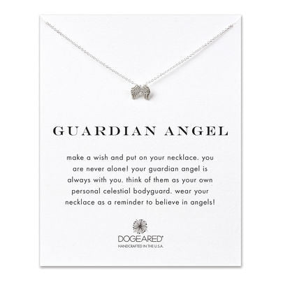 Guardian Angel - Onyx and Blush