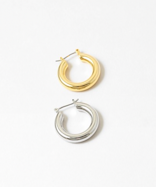 Small Thick Hoops