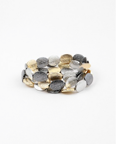Multi-Tone Stretch Bracelet
