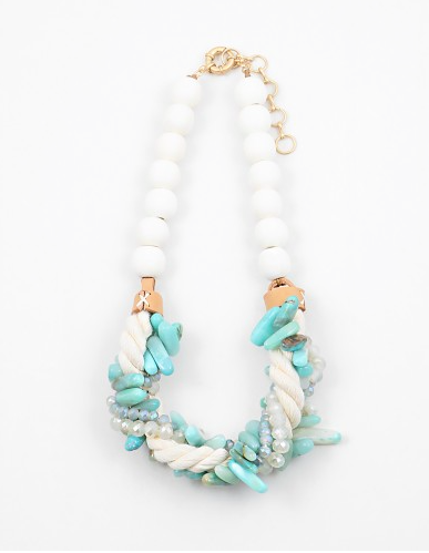 Twisted Summer Necklace