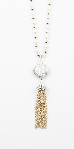 Fancy Tassel Necklace