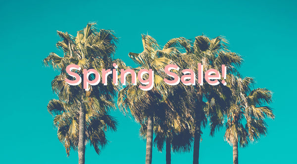 Spring Sale In Effect! Check out these great deals