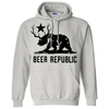 California Bear + Deer Beer Silhouette Sweatshirt Hoodie