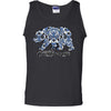 Blue California Republic Bear Asst Colors Tank Top