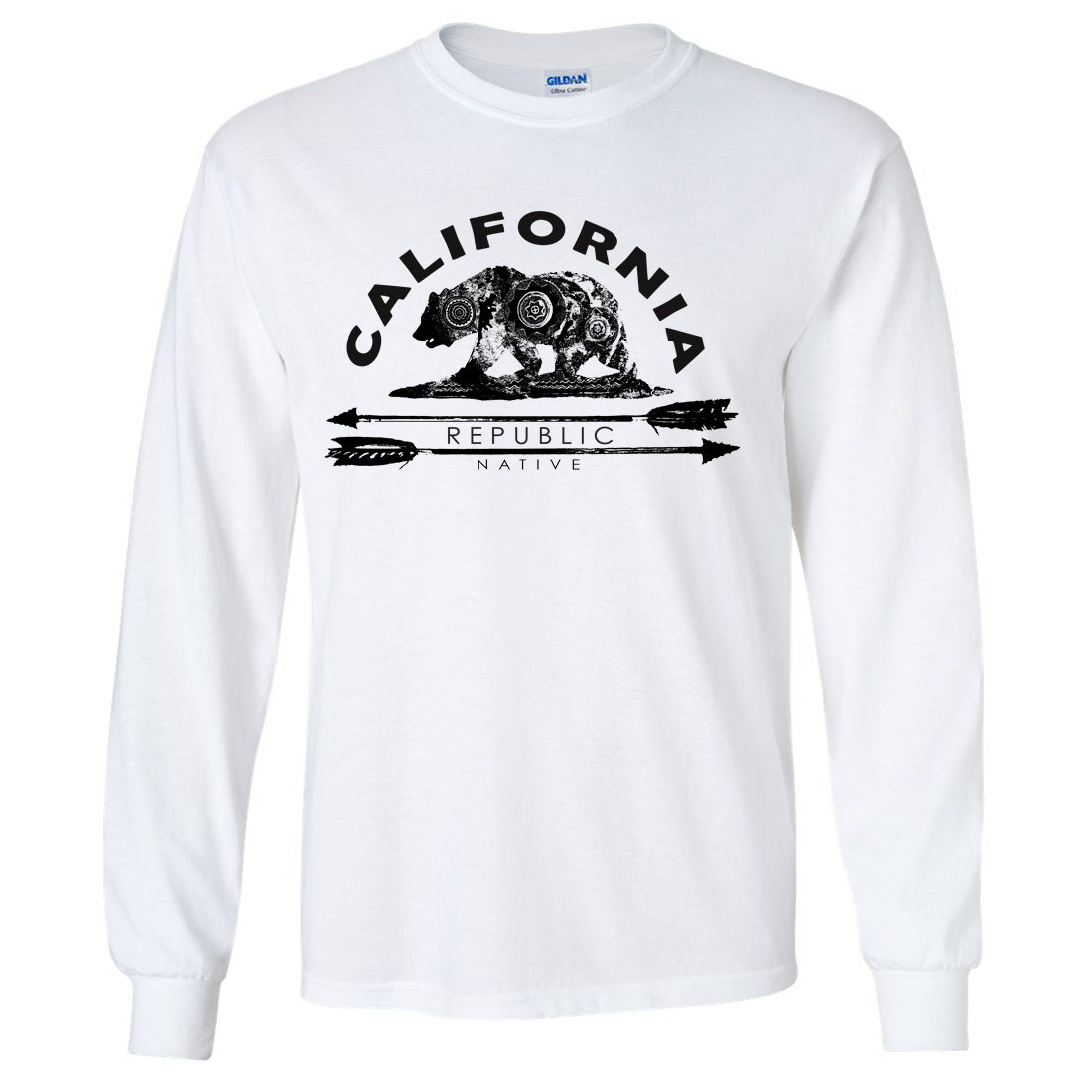 California Arrow Bear Long Sleeve Shirt