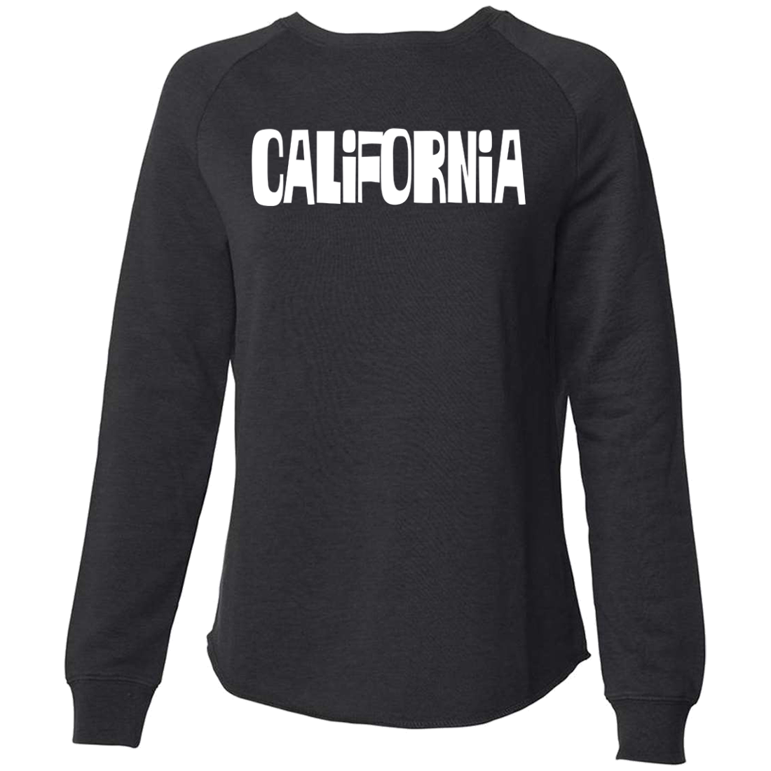 California Block Letters Super Soft Crewneck Sweater