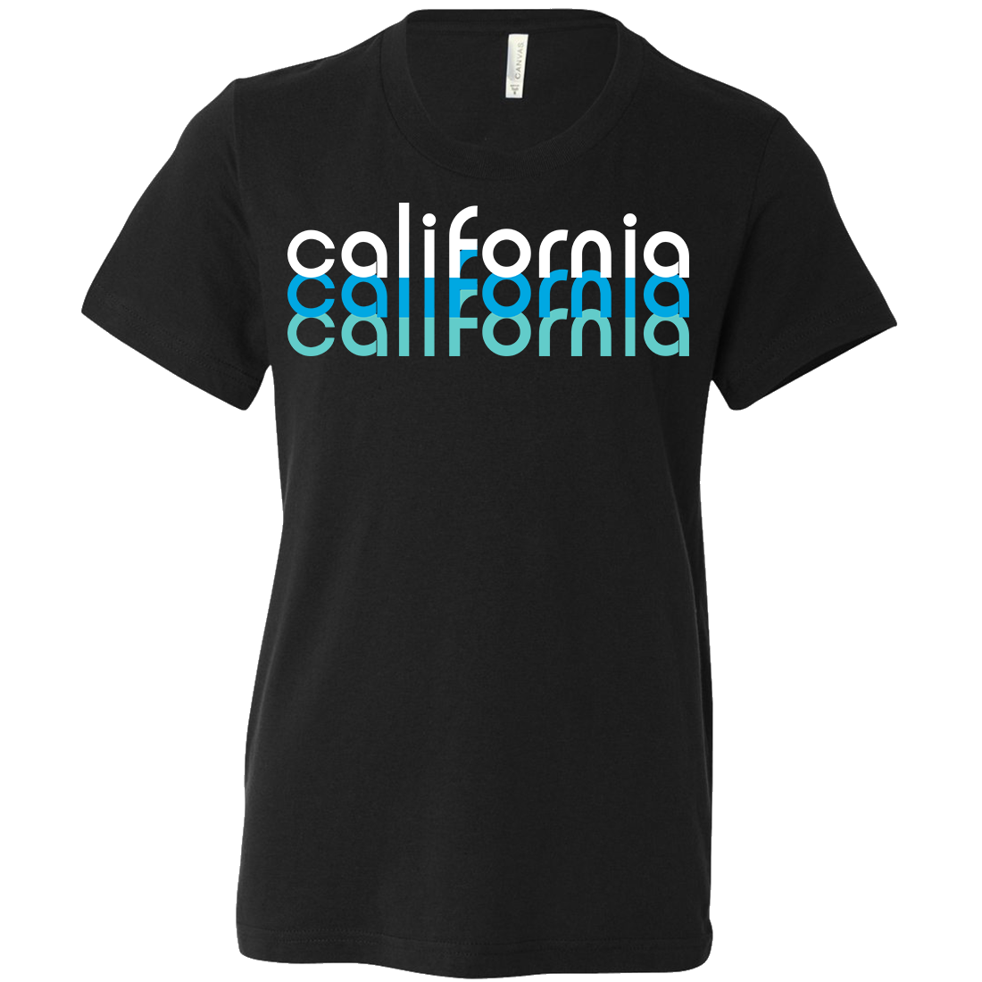 California Cool Stacked Asst Colors Youth T-Shirt/tee