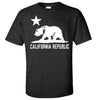 California Flag Oversized White Silhouette T-shirt/tee