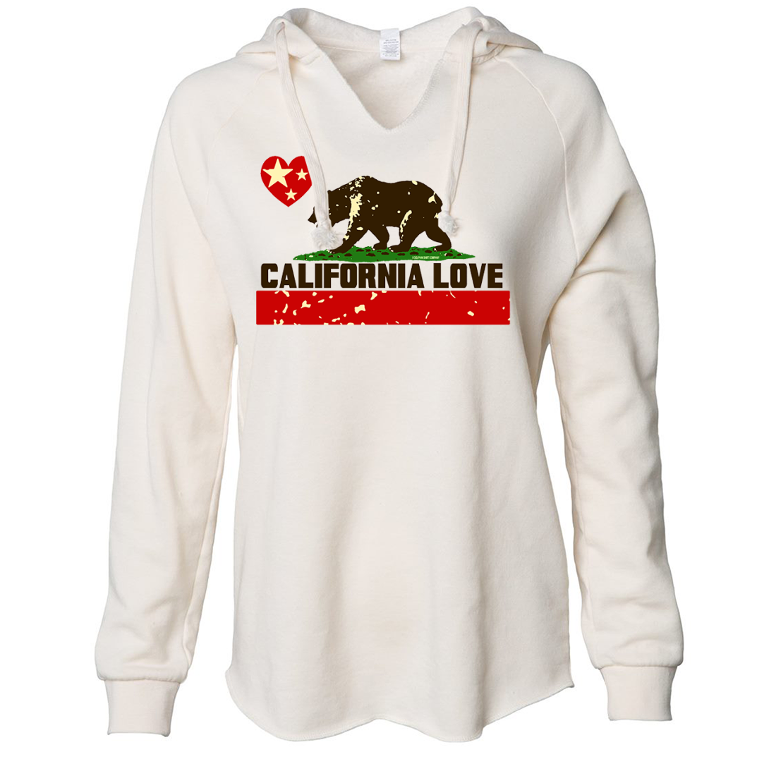 California Love Women's Soft Hooded Pullover