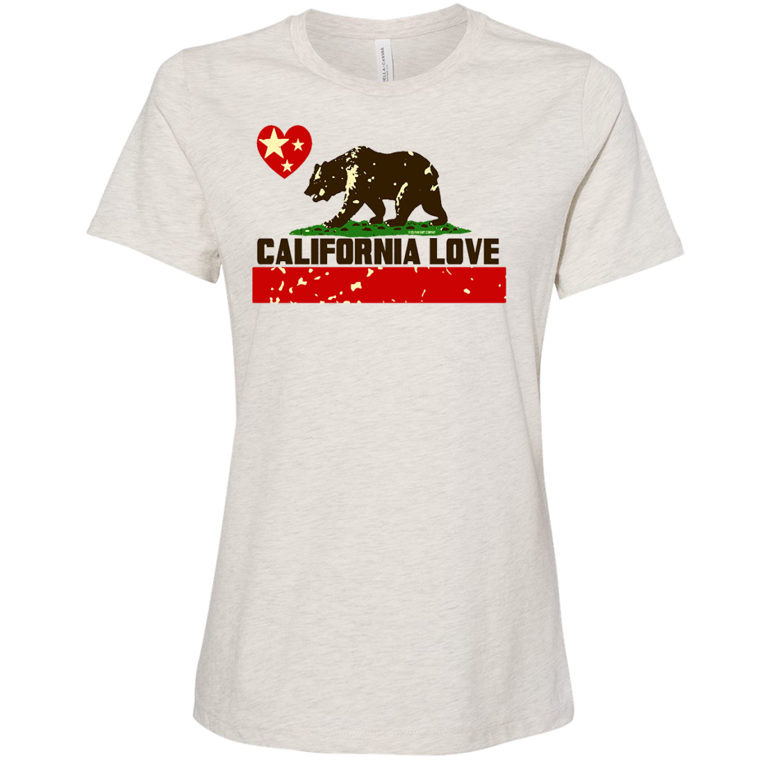 California Love Women's Relaxed Jersey Tee