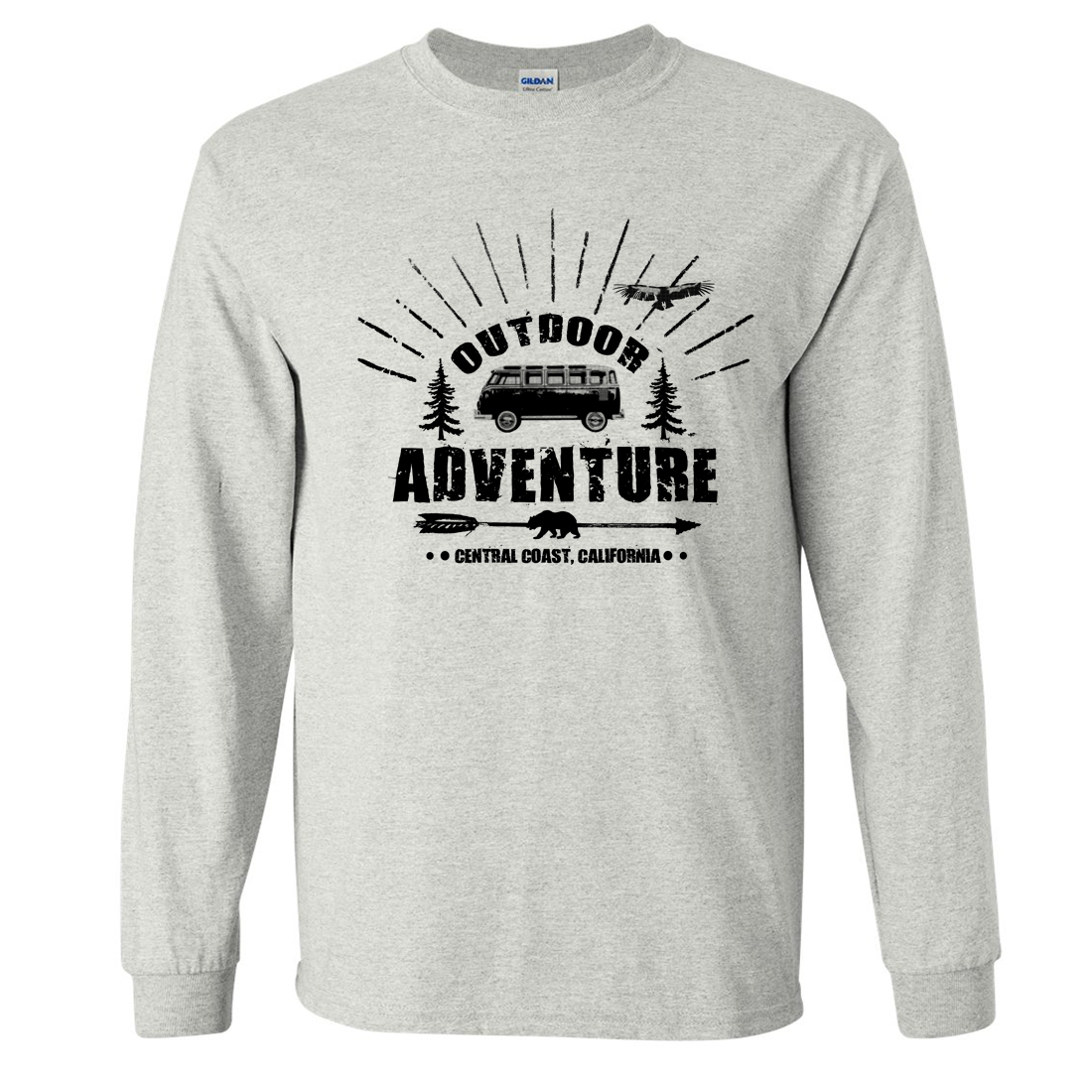 California Outdoor Adventure Long Sleeve Shirt
