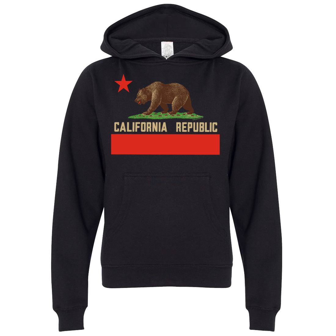 Don Pimentel California Republic Bear Flag Premium Youth Sweatshirt Hoodie