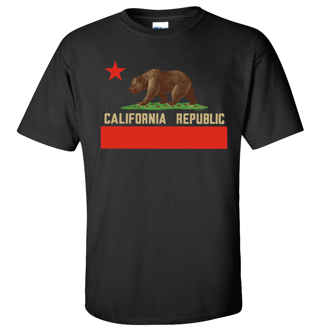 Don Pimentel California Republic Bear Flag Asst Colors T-shirt/tee
