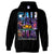 California Republic Cosmic State Flag Logo Design In Space Galaxy Sweatshirt Hoodie