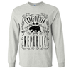 California Republic JD Whiskey Black Print Long Sleeve Shirt
