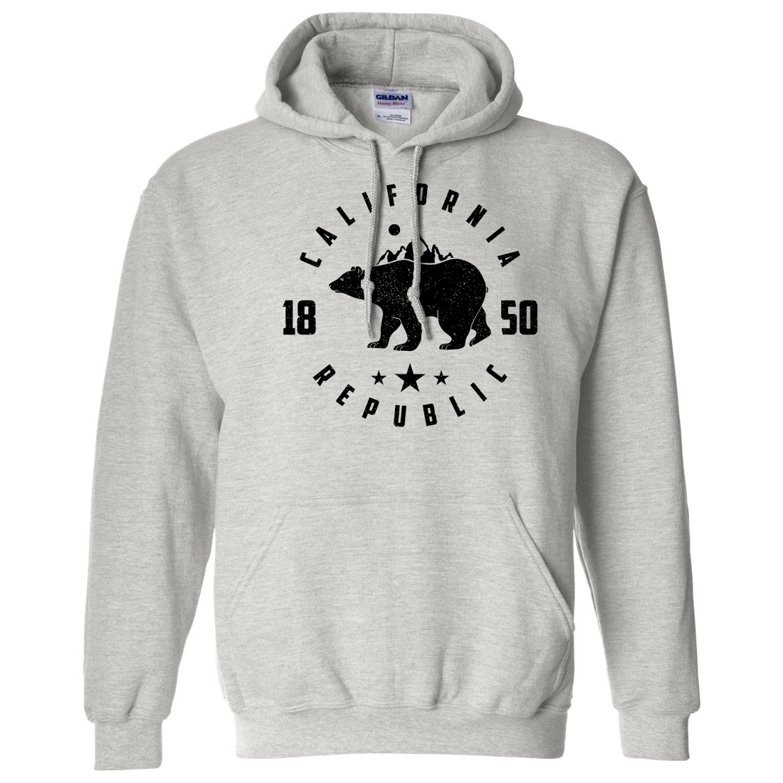 California Republic Mountains Sweatshirt Hoodie