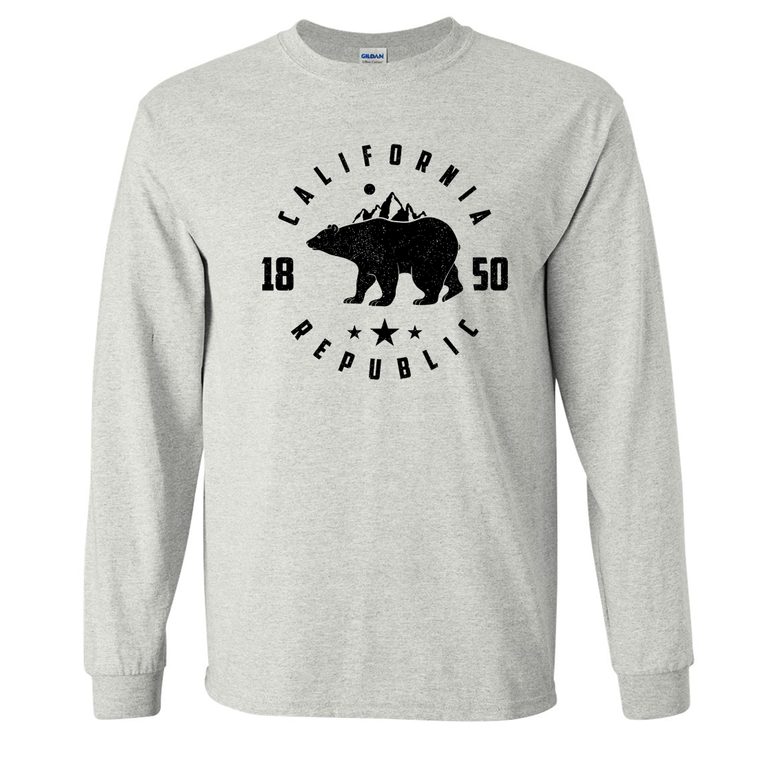California Republic Mountains Long Sleeve Shirt