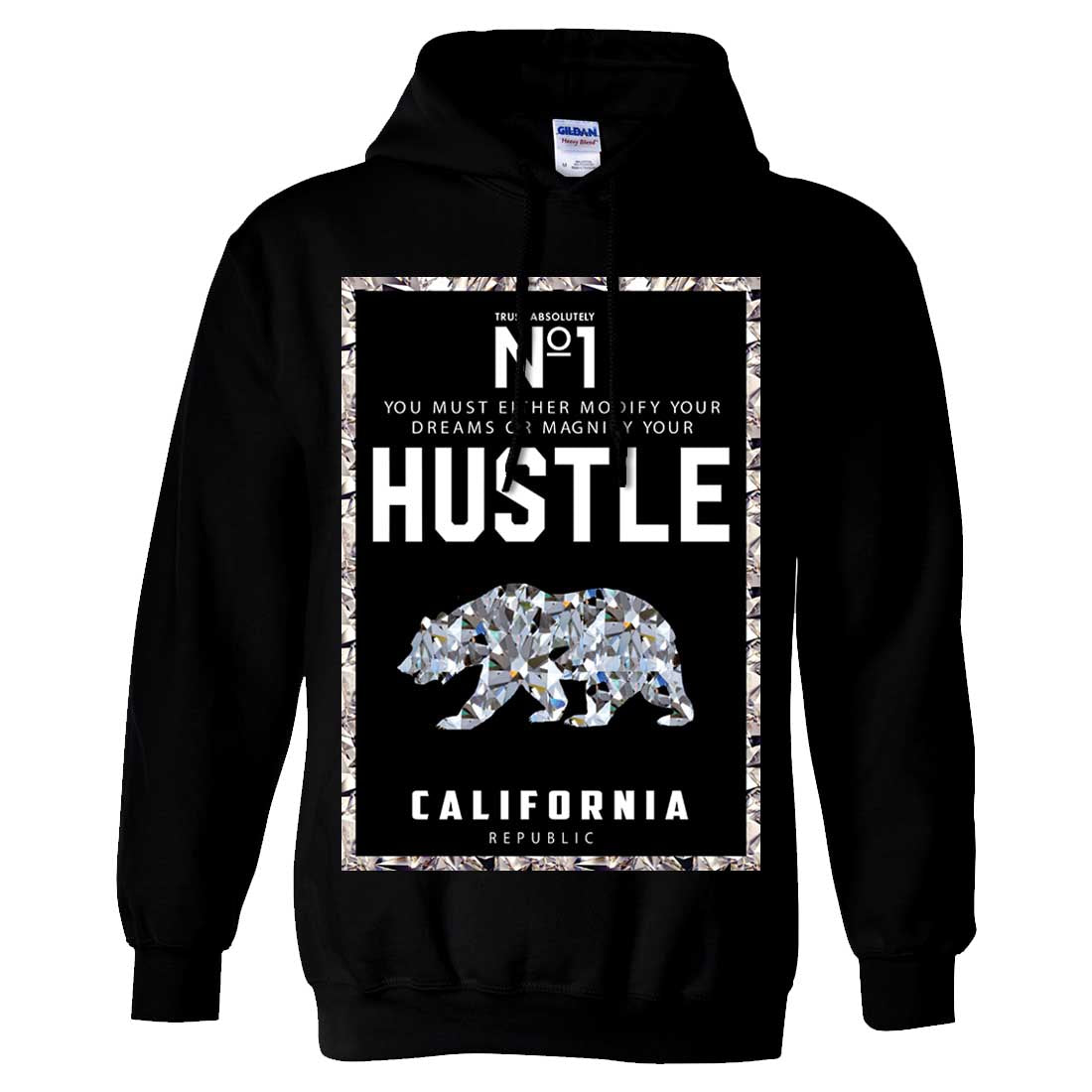 California Republic No. 1 Diamond Hustle Sweatshirt Hoodie