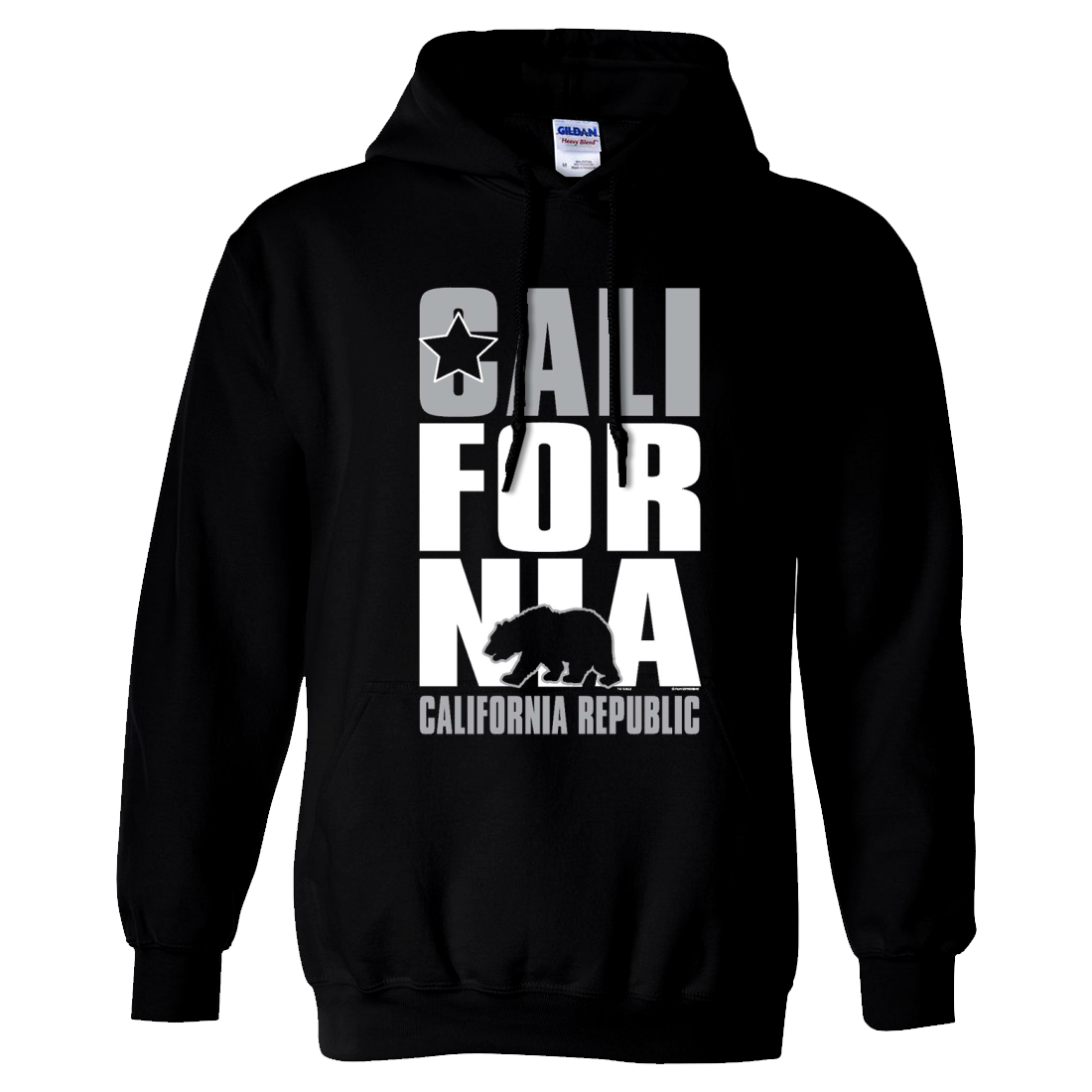 California Republic Raiders Style Sweatshirt Hoodie