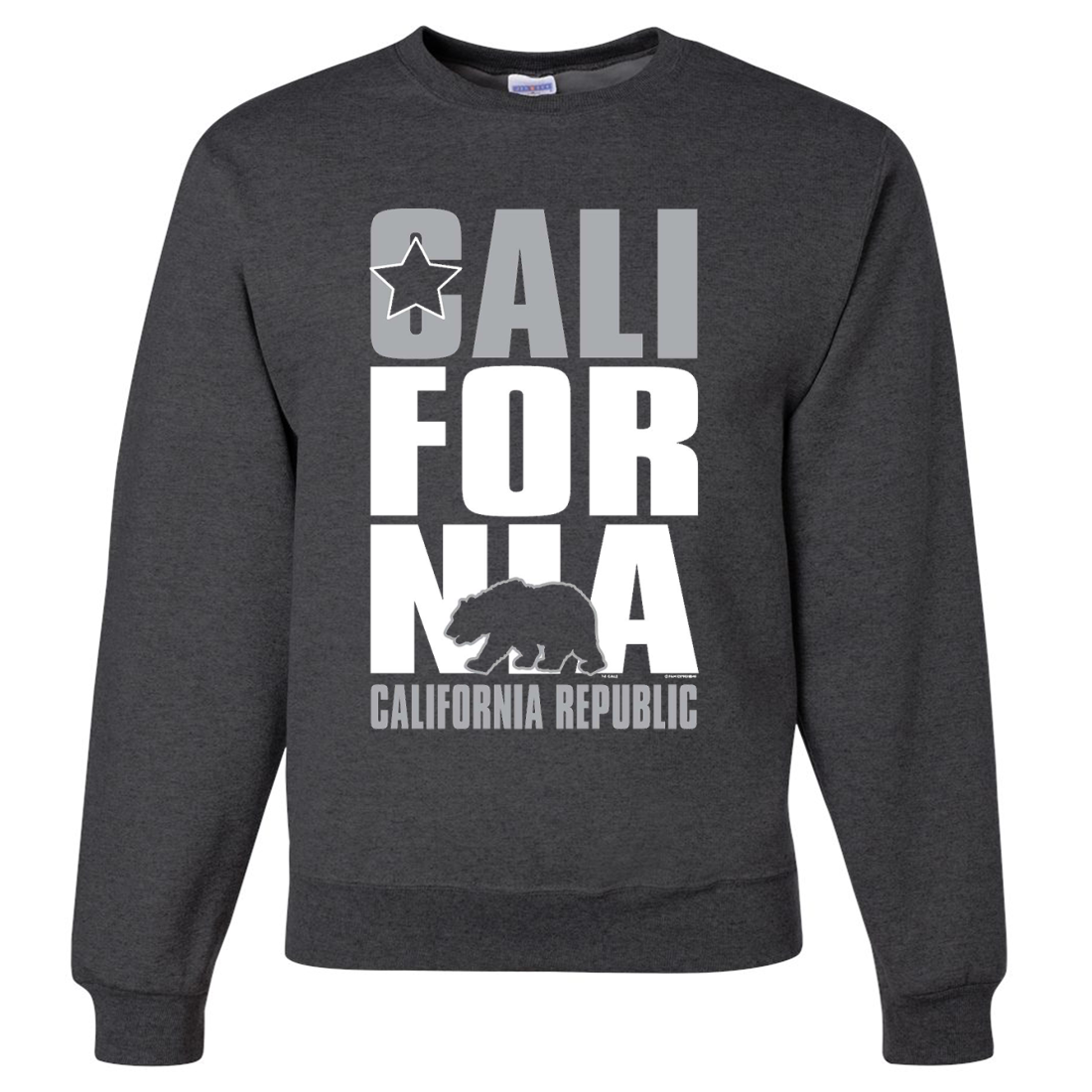 California Republic Raiders Style Crewneck Sweatshirt
