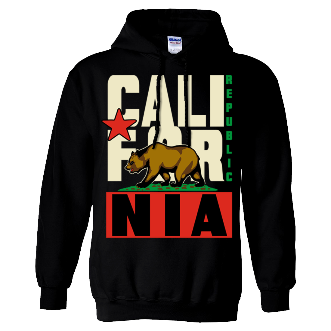 California Republic Original Retro Asst Colors Sweatshirt Hoodie