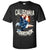 California Republic USA Bald Eagle Asst Colors T-shirt/tee