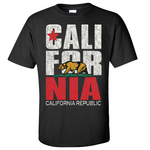 Men S T Shirts Unisex Sizing California Republic Clothes