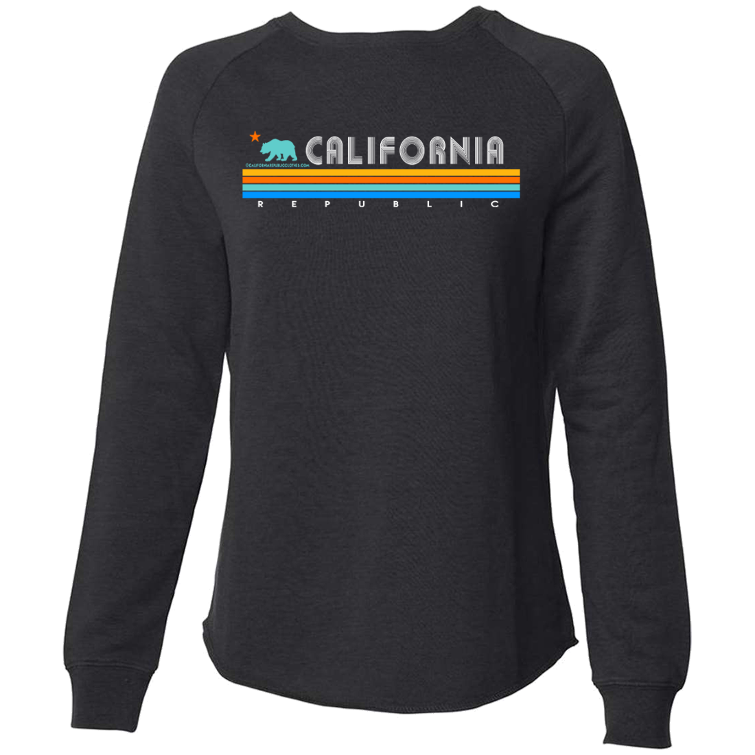 California Republic Vintage Stripe Super Soft Crewneck Sweater