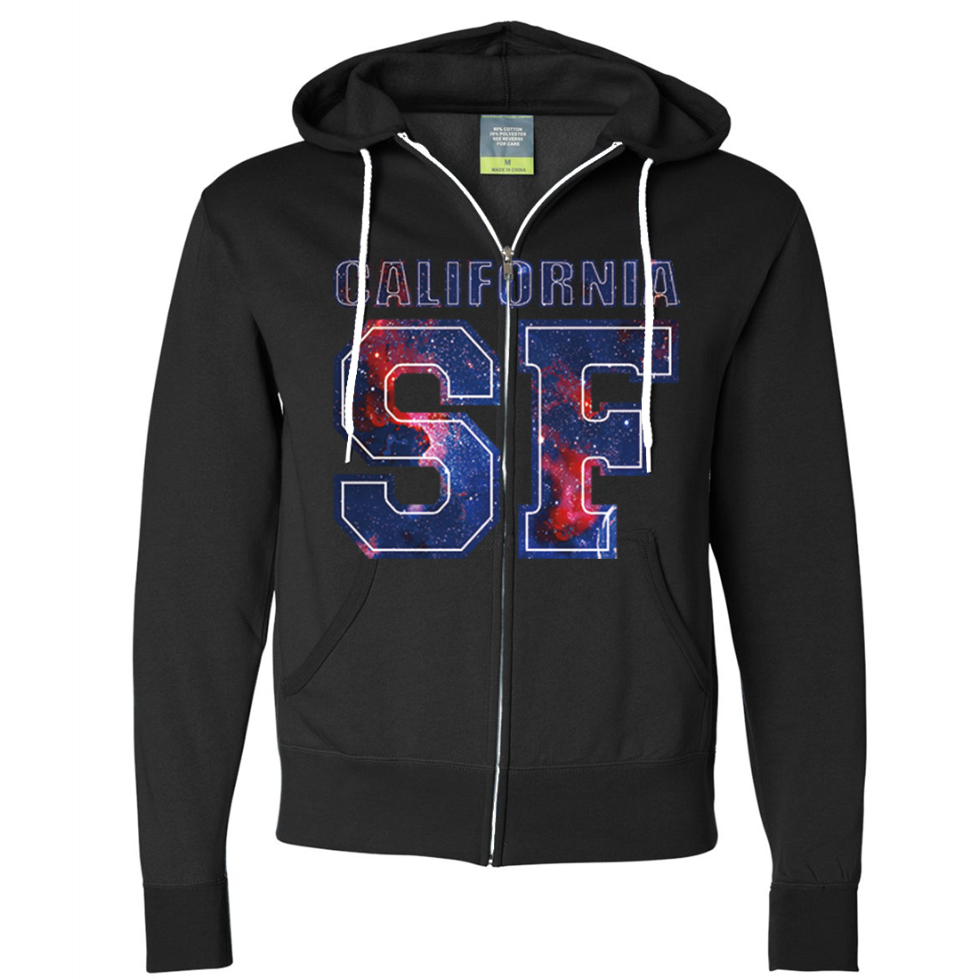 California SF Nebula Zip-Up Hoodie