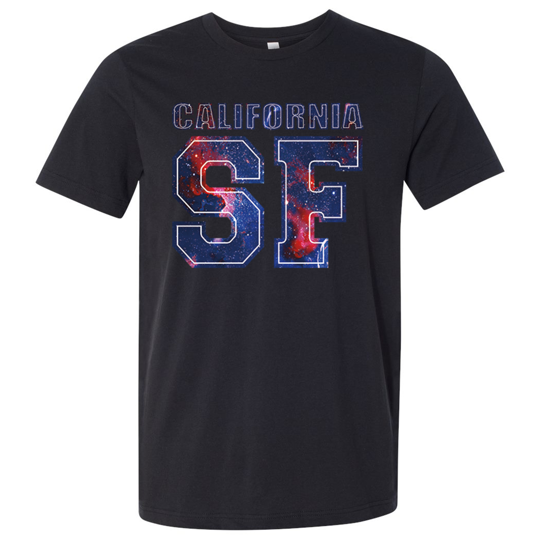 California SF Nebula Asst Colors Mens Lightweight Fitted T-Shirt/tee