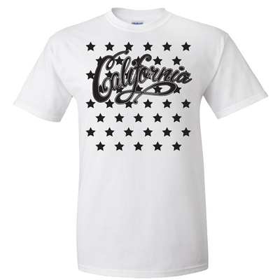 California Stars Asst Colors T-shirt/tee