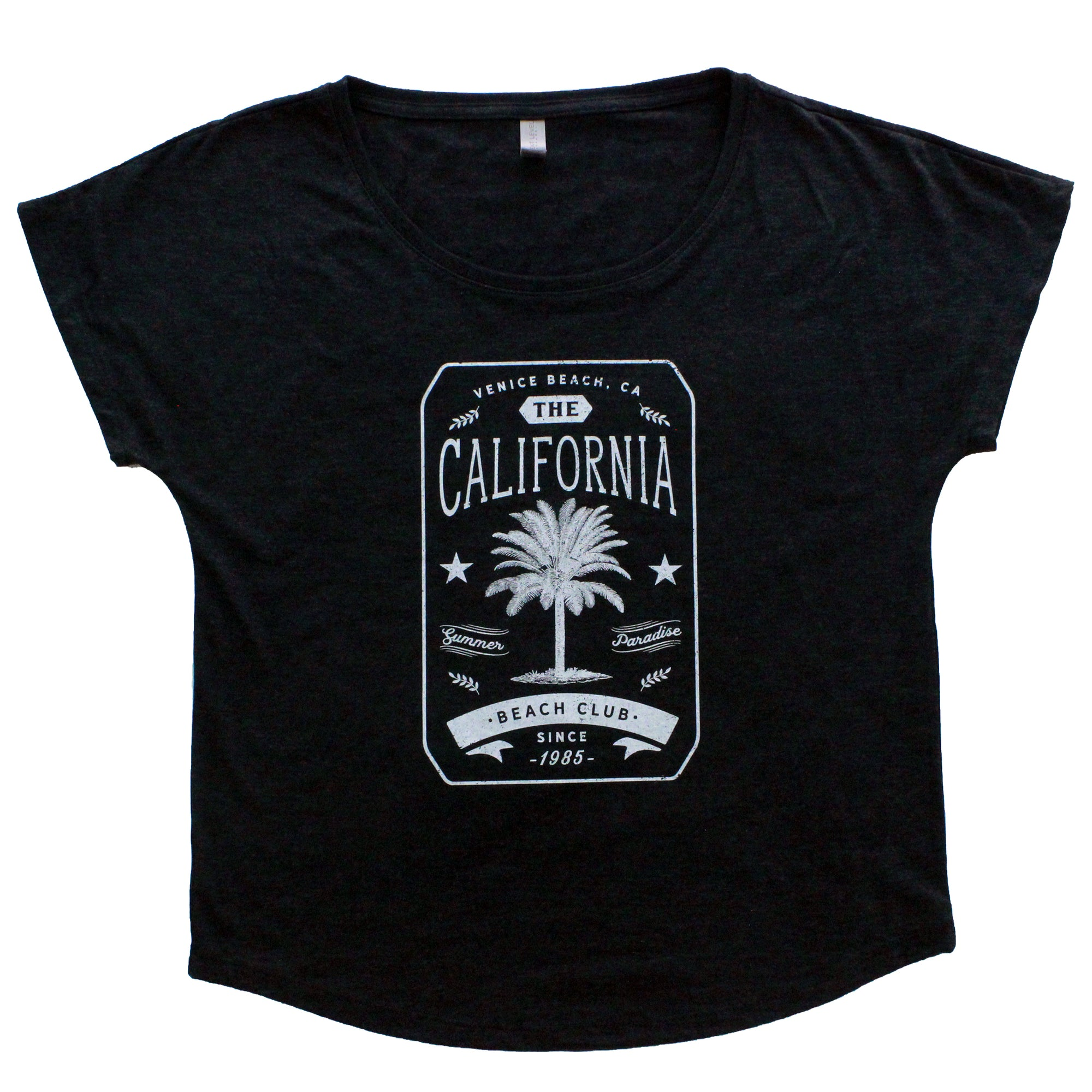 California Beach Club Women's Short Sleeve Dolman
