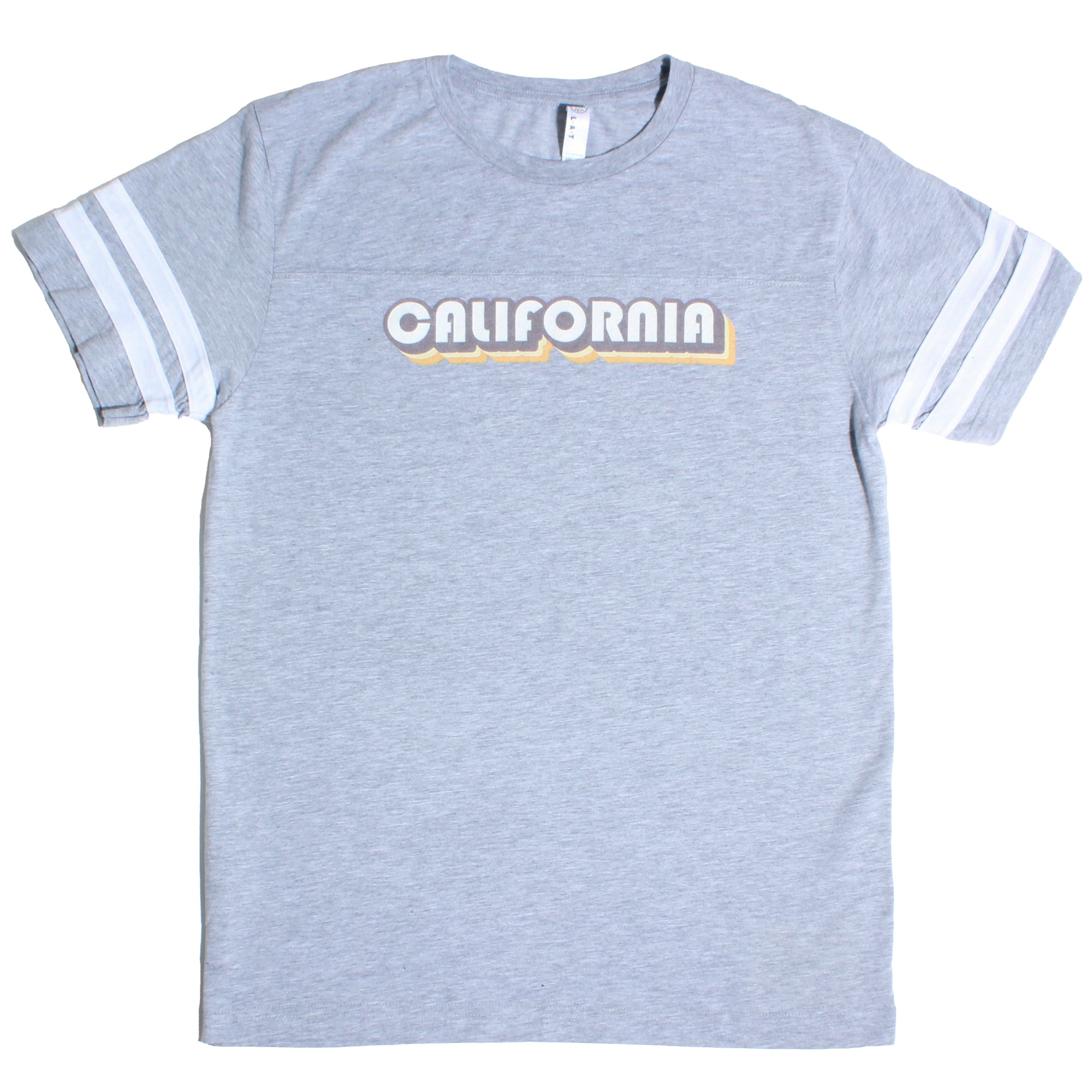California Seventies Style Jersey T-Shirt