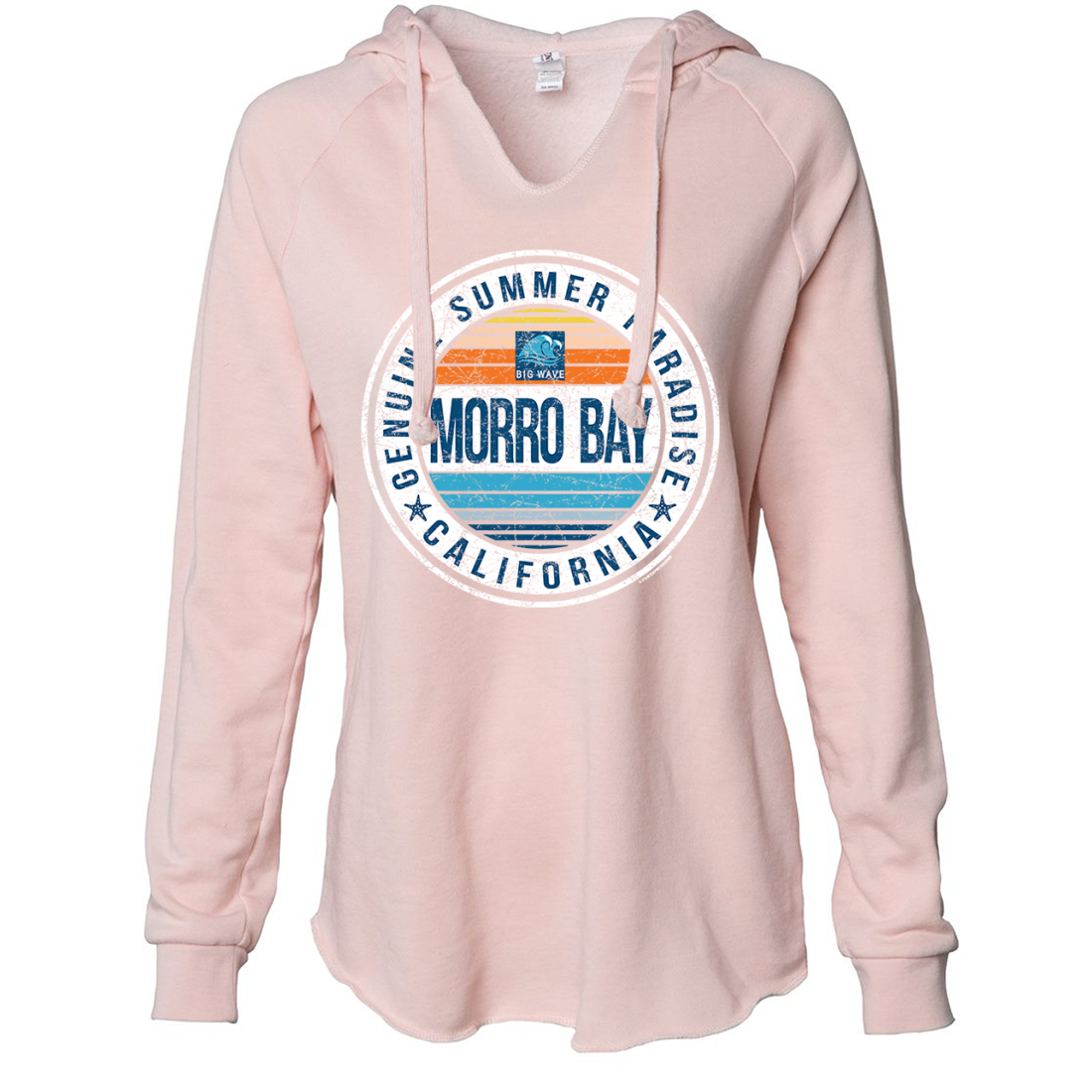 Geniune Summer Paradise Womens Soft Hooded Pullover
