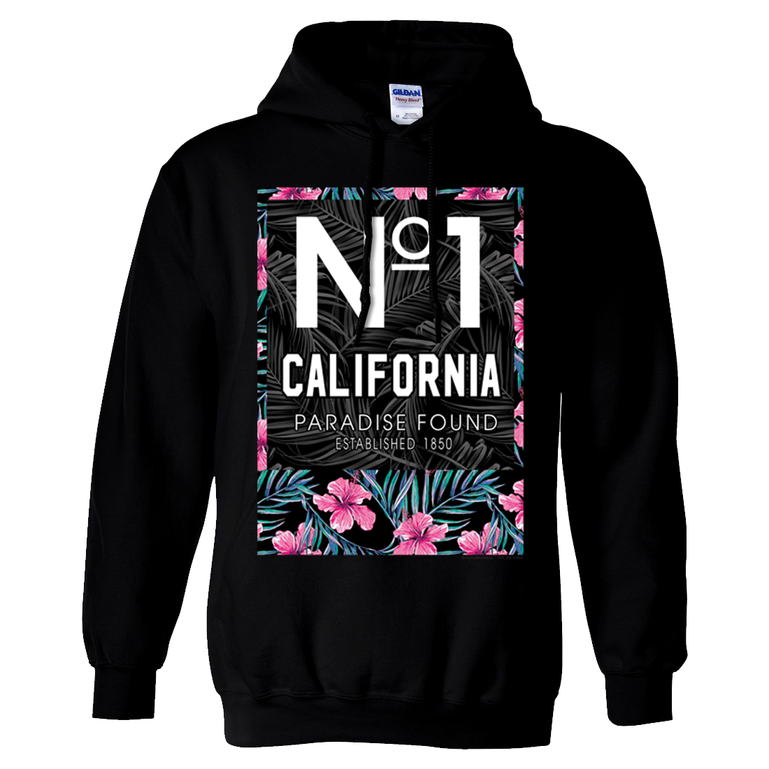 No 1 California Paradise Found Sweatshirt Hoodie