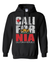 California Flag Retro Bold Text Sweatshirt Hoodie