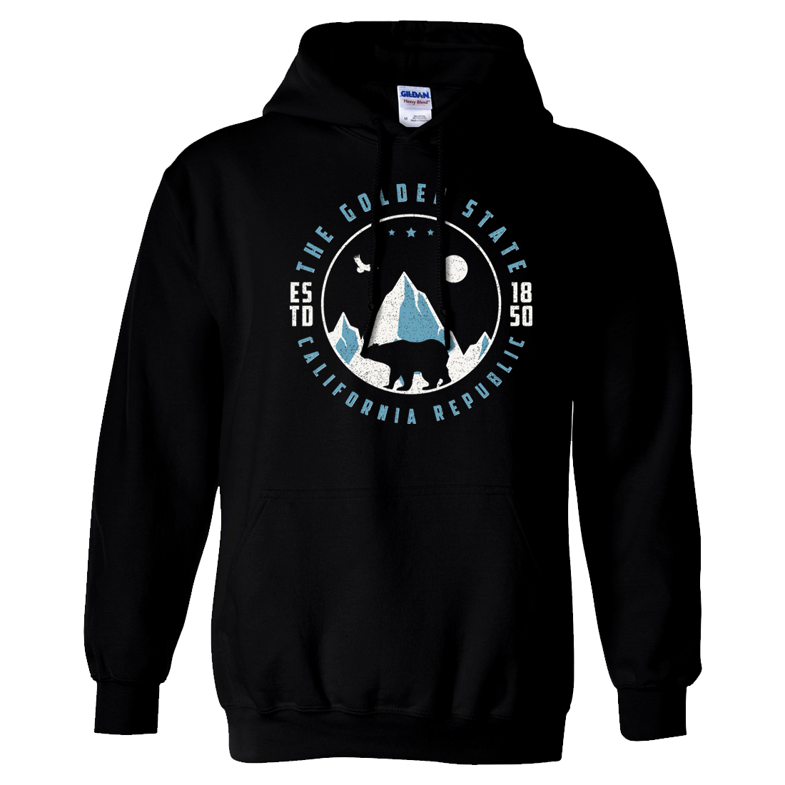 Snowy California Mountains Sweatshirt Hoodie