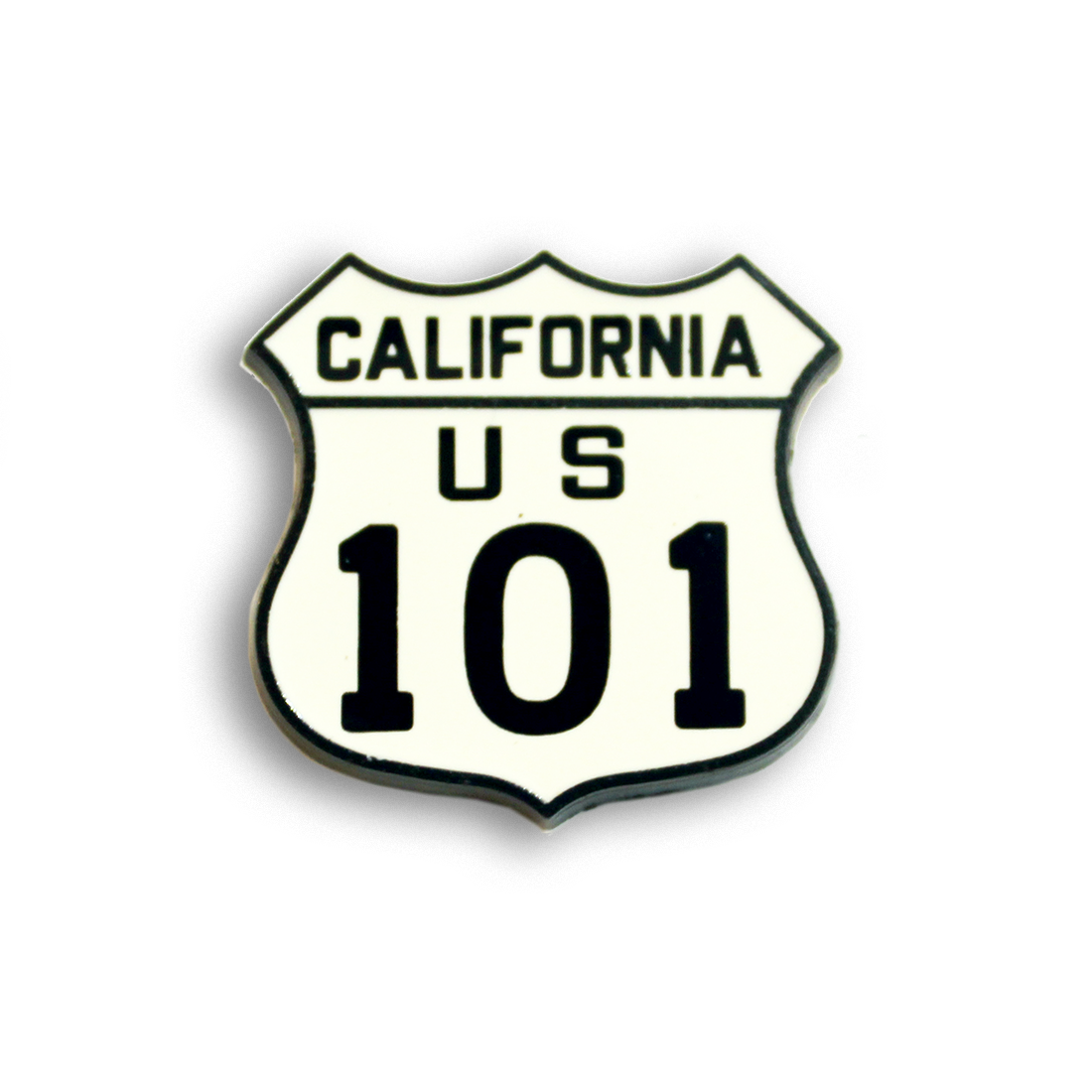 California Highway 101 Sign Pin