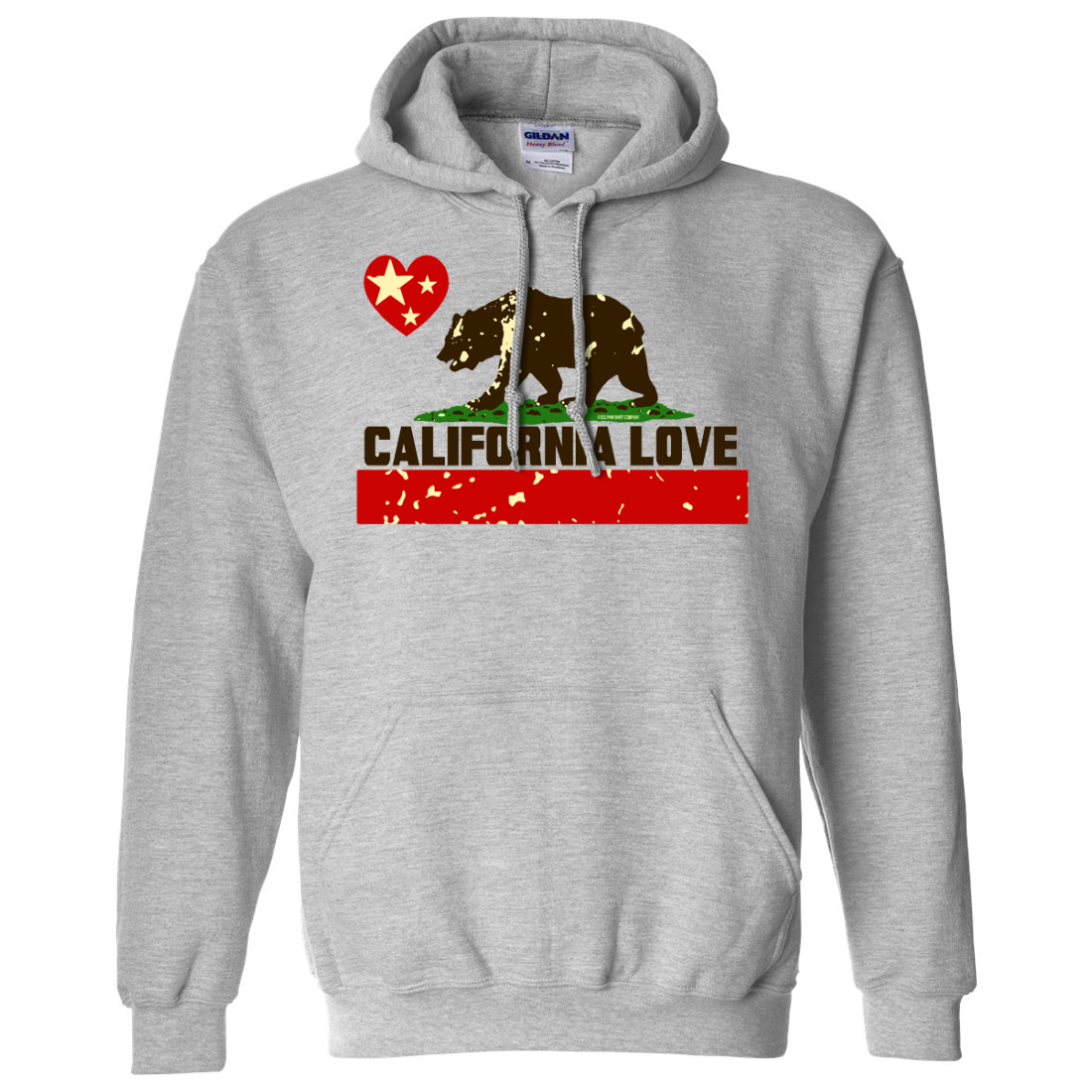 California Love Asst Colors Sweatshirt Hoodie