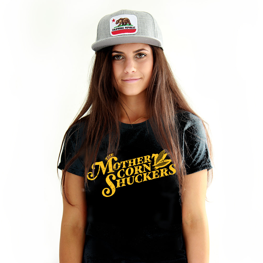 "Mother Corn Shuckers - ""MCS Logo"" Premium T-Shirt"