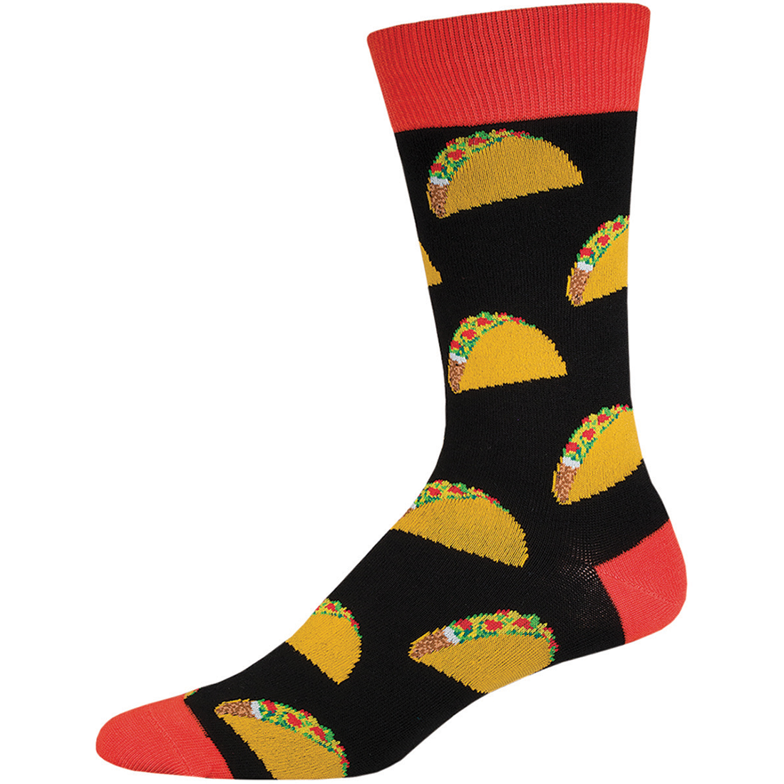 Black Taco Novelty Socks - Men's