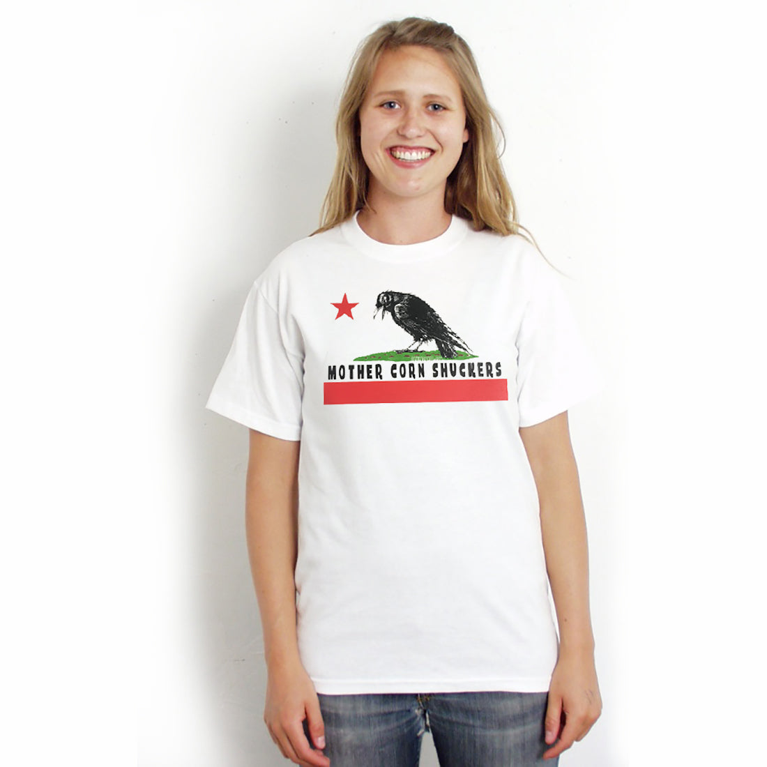 "Mother Corn Shuckers - ""Crow"" Premium T-Shirt"