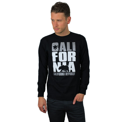 California Republic Raiders Style Long Sleeve Shirt