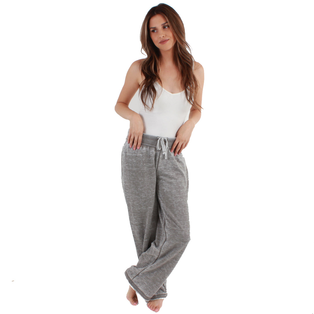 Zen Fleece Sweatpant  -  Cement