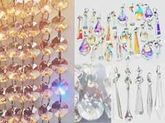 The Full Range of Chandelier Cut Glass Droplets