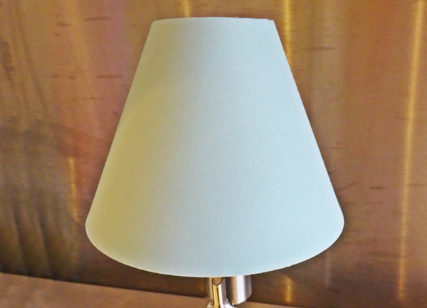 Duck Egg Blue Clip On Candle Lampshade 5 Inch Diameter Chandelier Shade Retro 2